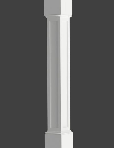Paneled Column Rendering 3-2